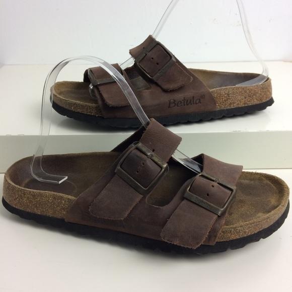 751e672ad2f5 Birkenstock Shoes - Birkenstock Betula Soft Footbed Arizona Sandals 9